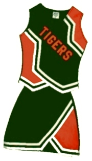 cheerleading uniform